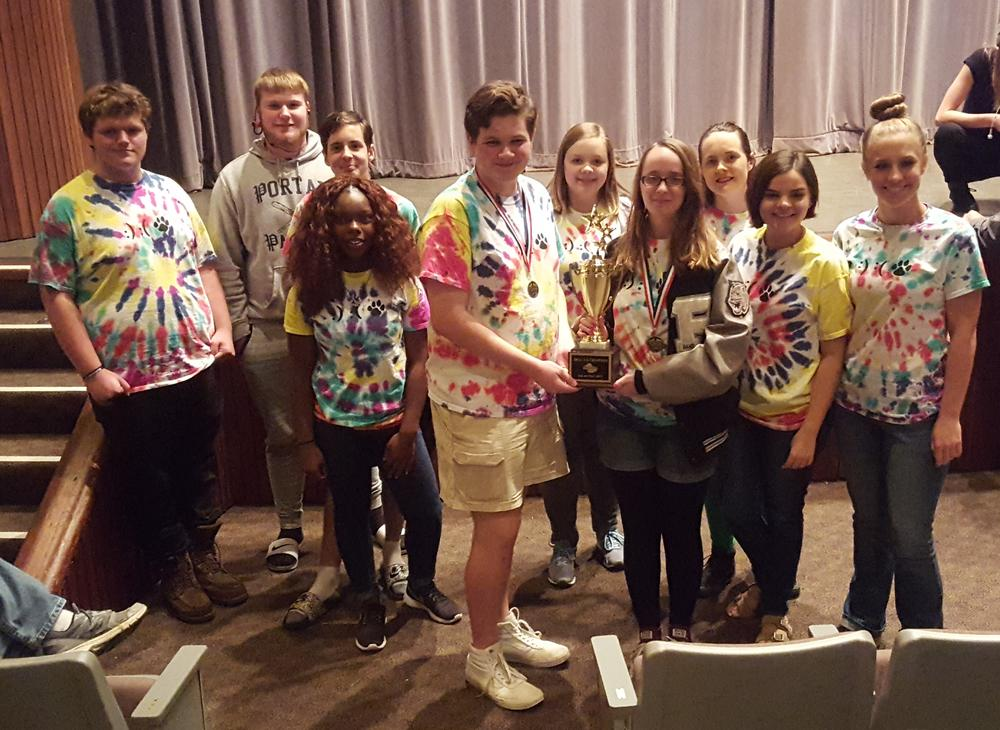 Portal One Act Play wins Region Championship