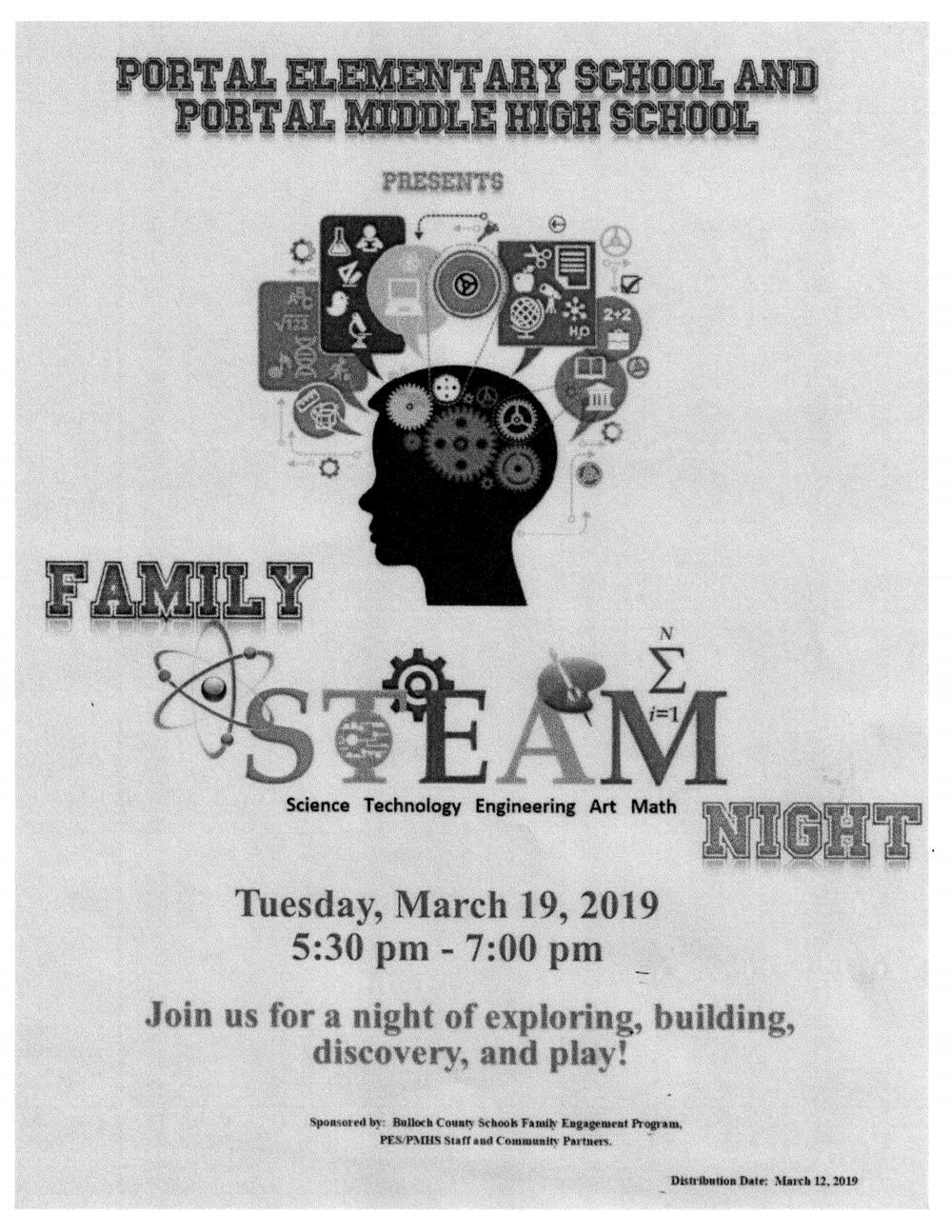stem night march 19
